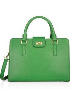 Apple green purse