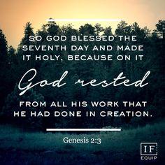 Genesis 2:1-3 | IF:Equip Day 4 Bible Study
