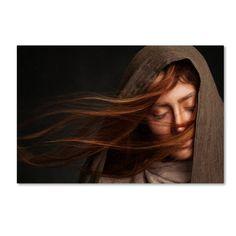 Trademark Fine Art 'Nafas II' Canvas Art by Mehdi Mokhtari, Size: 16 x Red Photography Awards, Photography Women, Portrait Photography, Artist Canvas, Canvas Art, Woman Standing, Portrait Inspiration, Writing Inspiration, Face Cleanser