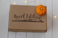 Novel editions is a book box subscription website for book lovers. We mail books to our subscribers each month as well as 2-3 related items. We are located in Canada and ship to Canada and the United States.