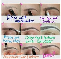Makeup tip.. good they look flippin amazeballs
