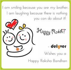 Rakha Bandhan Greetings from Delyver!