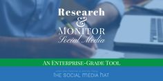 An Incredible Research And Monitoring Tool for Social Media