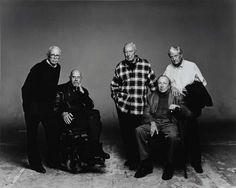 Irving Penn: Portrait of Ellsworth Kelly, Chuck Close, Jasper Johns, Robert Rauschenberg, and Kenneth Noland...