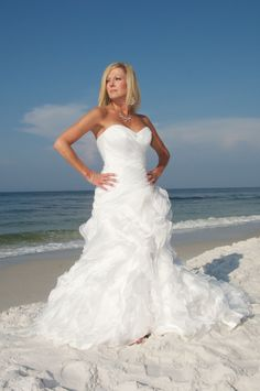 Beach Bride Fashionista! SunHippie Weddings 850-737-0469