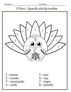 Giving Thanks (Doy Gracias) Coloring Page - Printable ...
