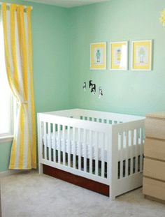 for the spare bedroom that will one day be a nursery benjamin