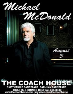 Michael McDonald - too many times to remember where or when