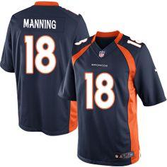 Peyton Manning Limited Jersey-80%OFF Nike Peyton Manning Limited Jersey at Broncos Shop. (Limited Nike Men's Peyton Manning Navy Blue Jersey) Denver Broncos Alternate #18 NFL Easy Returns.