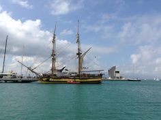 Tall Ship La Grace in Alcaidesa Marina today http://www.lagrace.eu/en/main