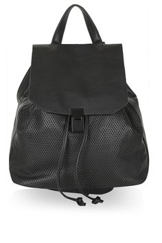 58a765650c5f Soft Perforated Backpack - Topshop Topshop Backpack
