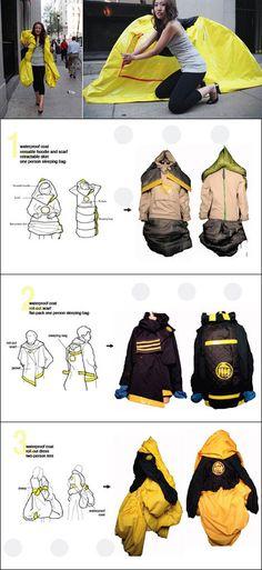 kaiCran Baby Kid Cute Cartoon Raincoat Children Reflective Safety Design Hooded Raincoat with Backpack Student Raincoat