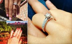 Tips on how to take the best engagement ring selfie!!