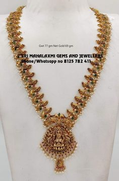 Light weight Necklaces and Harams in perfect finish new designs. Visit fro full range at wholesale prices. Contact no 8125 782 03 December 2019 Jewelry Design Earrings, Gold Earrings Designs, Necklace Designs, Pendant Jewelry, Gold Designs, Bead Jewellery, Gold Pendant, Gold Bangles Design, Gold Jewellery Design