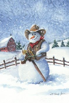 Toland Home Garden Cowboy Snowman 28 x Decorative USAProduced House Flag -- Learn more by visiting the image link-affiliate link. Cowboy Christmas, Country Christmas, Christmas Snowman, Winter Christmas, Vintage Christmas, Christmas Crafts, Christmas Decorations, Christmas Ornaments, Christmas Drawing