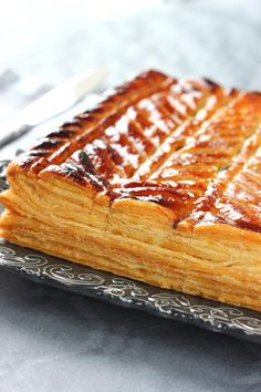 GALETTE DES ROIS (northern french-style king cake) [France] [cotegourmandises]