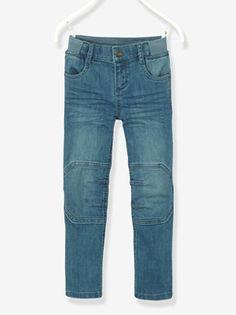 f592c1d65225c Jean droit stretch garçon tour de hanches LARGE - vertbaudet enfant Magasin  Jeans