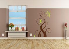 Einzigartig Wohnzimmer Zweifarbig Streichen