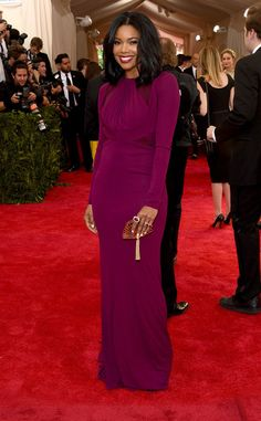 Gabrielle Union from 2015 Met Gala Arrivals | E! Online
