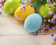 Cute Easter Eggs Wallpaper