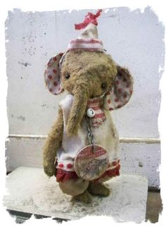 Whimsical elephant!