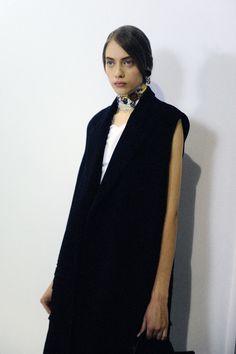 Backstage at Dior ss16 show Paris Fashion Week by Elise Toïdé Crash Magazine