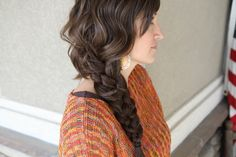 Messy Five {5} Strand Braid DIY   Cute Girls Hairstyles http://www.youtube.com/watch?feature=player_embedded=4dfKIKTwLEQ