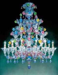 Murano Art Glass Australia Flower Chandelier, Murano Chandelier, Chandelier Lighting, Chandeliers, Light Fittings, Light Fixtures, Funky Furniture, Room Lights, Candyland