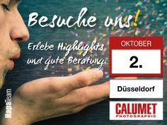 SAVE THE DATE. Wir sehen uns am 2.10 auf der Hausmesse von Calumet in #düsseldorf ! https://www.calumetphoto.de/store/duesseldorf?utm_content=buffer7b8fb&utm_medium=social&utm_source=pinterest.com&utm_campaign=buffer