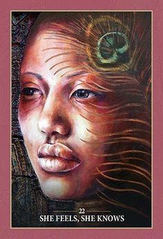 "Sacred Rebels Oracle ""She feels, She knows"""