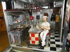 1950's Diner 1:12 Scale Mini by MiniatureMadness on deviantART