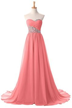Sunvary New Sweetheart Pageant Maxi Summer Wedding Prom Reception Bridesmaid Dress Size Coral -- Continue to the product at the image link. Bridesmaid Dresses, Prom Dresses, Formal Dresses, Four Seasons, Pageant, Summer Wedding, Lilac, Reception, Coral