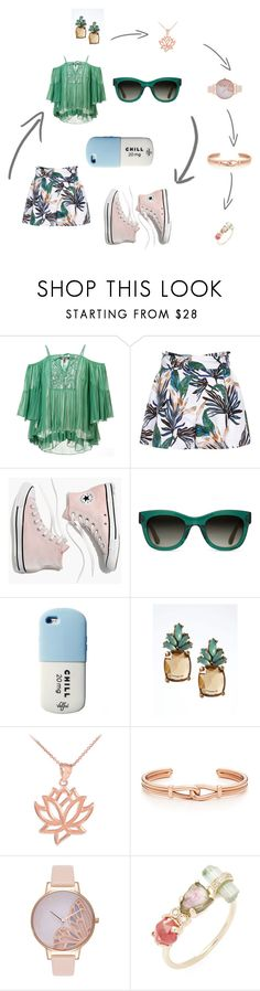 """""""summer days"""" by cassandra-beauchamp on Polyvore featuring Roberto Cavalli, Reiss, Madewell, TOMS, Banana Republic, Olivia Burton and Jacquie Aiche"""