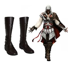Assassin's Creed Ezio Auditore Cosplay Boots