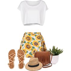A fashion look from March 2015 featuring American Apparel t-shirts, Aéropostale sandals and Rebecca Minkoff shoulder bags. Browse and shop related looks.