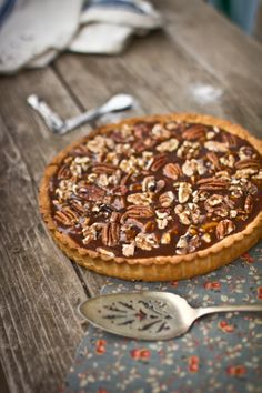 Salted Caramel Roasted Nut Tart | Adventures in Cooking