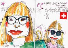 Sketch (2012) by Felix Scheinberger Urban Sketching, Illustrators, Sketches, Watercolor, Cartoon, Sketchbooks, Drawings, Anime, Painting