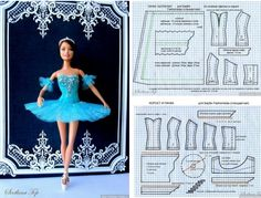 how to make ballet clothes for barbie with molds-como hacer ropa de ballet para barbie con moldes how to make ballet clothes for barbie with molds - Sewing Barbie Clothes, Barbie Dolls Diy, Barbie Sewing Patterns, Doll Dress Patterns, Costume Patterns, Sewing Dolls, Barbie Dress, Clothing Patterns, Fancy Gowns