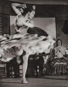 Flamenco dancer, 1956