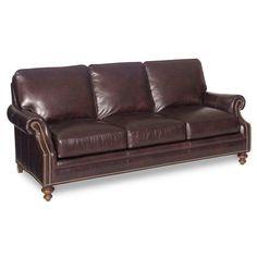 Bradington-Young West Haven Sofa Finish: Mahogany, Upholstery: 912500-84