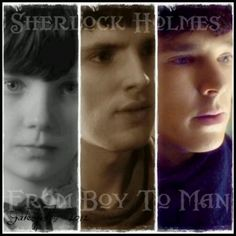 This is epic, little Mordred, Merlin, and Sherlock. This actually took me a second to realize