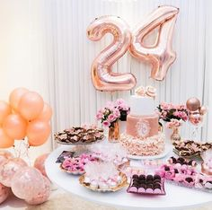 29 ideas birthday decorations for teens decor 25th Birthday Cakes, 18th Birthday Party, Birthday Party Decorations, Birthday Celebration, Birthday Goals, Birthday Love, Birthday Ideas, Birthday Wishes, Decoration Evenementielle