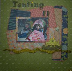 Scrap Queen - Cricut Cartridge Noah's ABC's (title) Cricut Cartridge Give a Hoot (frog)