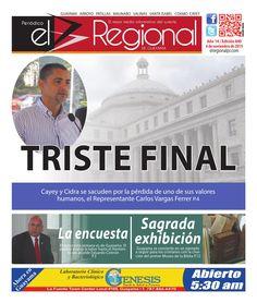 Periódico El Regional - Edición 840  4 de noviembre de 2015