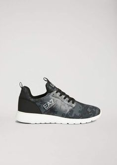 18857ca27847 Emporio Armani Ea7 Simple Racer Camou Running Sneakers Running Sneakers
