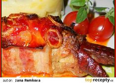 Luhačovický skřivan recept - TopRecepty.cz French Toast, Pork, Treats, Breakfast, Red Peppers, Kochen, Kale Stir Fry, Sweet Like Candy, Morning Coffee