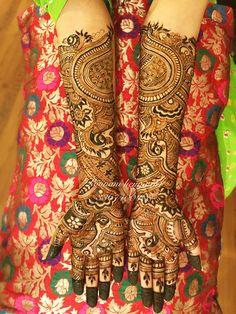 Bridal Mehndi Designs, Bridal Henna, Henna Designs, Henna Mehndi, Mehendi, Hand Henna, Hand Tattoos, Beautiful, Henna Art Designs