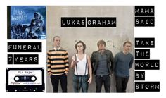 """lukas graham"" by kishshannon ❤ liked on Polyvore featuring DK, ...Lost, women's clothing, women, female, woman, misses, juniors and musicplaylist"