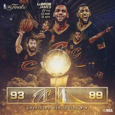 LeBron Triple Double Cavs Wins Game 7 2015/16 NBA FINALS