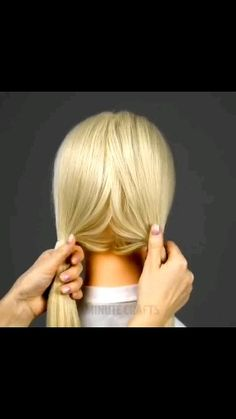 Cool Hairstyle - Stacey H Burrage Cool Braid Hairstyles, Easy Hairstyles For Long Hair, Up Hairstyles, Pretty Hairstyles, Make Up Videos, Hair Videos, Bridal Hair Tutorial, Front Hair Styles, Homecoming Hairstyles